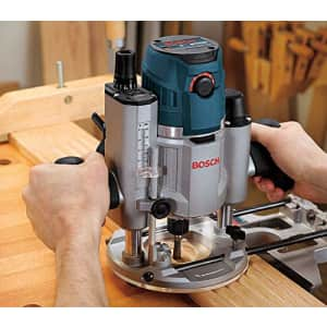 Bosch 120-Volt 2.3 HP Electronic Plunge Base Router MRP23EVS for $323