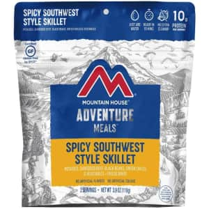 Mountain House Spicy Southwest Style Skillet Pouch for $9