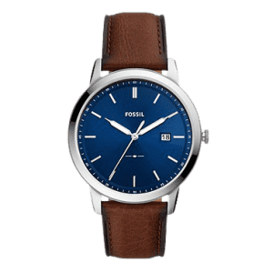 Fossil Men's The Minimalist Solar Powered Watch for $97