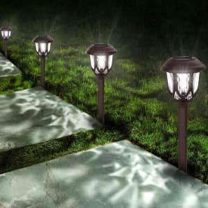 StarGinz Solar LED Path Light 10-Pack for $20
