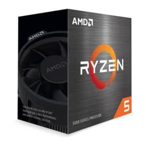 4th-Gen AMD Ryzen 5 5600X 6-Core 3.7GHz Desktop Processor for $299