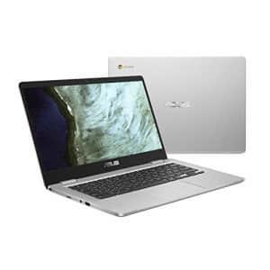 "ASUS Chromebook Laptop- 14.0"" HD 180 Degree NanoEdge Display, Intel Dual Core Celeron N3350 for $190"