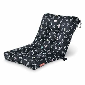 Vera Bradley by Classic Accessories Water-Resistant Patio Chair Cushion, 21 x 19 x 22.5 x 5 Inch, for $66