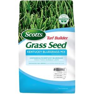 Scotts Turf Builder Grass Kentucky Bluegrass Mix 7-lb. Bag for $27