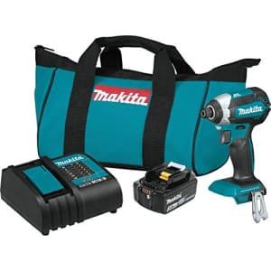Makita XDT131 18V LXT Lithium-Ion Brushless Cordless Impact Driver Kit (3.0Ah) for $119