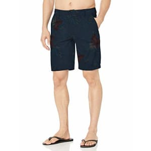 "Rip Curl Men's Jungle 20"" Boardwalk Hybrid Shorts, Navy, 29 for $44"