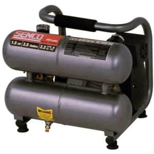 Senco PC0968 Compressor, 1.5-Horsepower (PEAK) 2.5-Gallon for $192