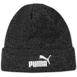 PUMA Men's Vermont Marled Beanie for $6