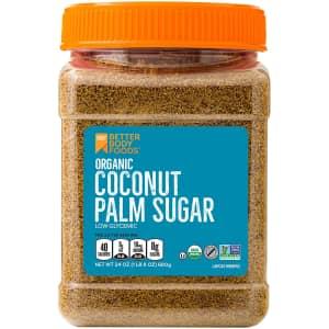 BetterBody Foods 24-oz. Organic Coconut Palm Sugar for $5.68 via Sub & Save