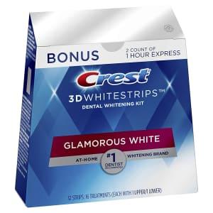 Crest 3D Whitestrips Teeth Whitening Kit for $28 via Sub & Save