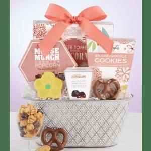 Full Bloom Sweet Treats Basket from $37