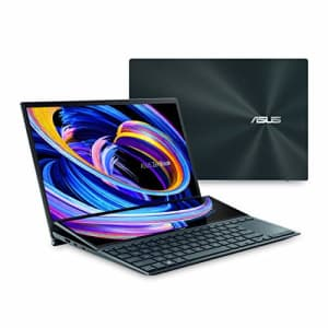 ASUS ZenBook Duo 14 UX482 14 FHD NanoEdge Touch Display, Intel Core i7-1165G7 CPU, NVIDIA GeForce for $2,090