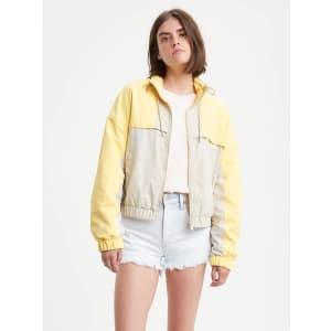 Levi's Womens' Celeste Windbreaker Jacket for $65