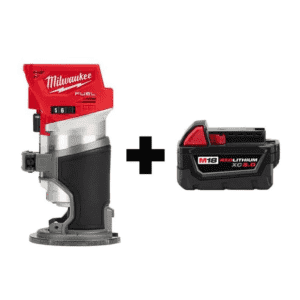 Milwaukee M18 FUEL 18V Cordless Router w/ Battery for $179