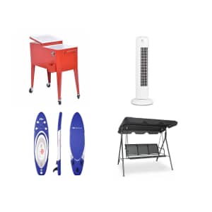 Costway Back to Summer Refresh Sale: up to 30% off summer supplies