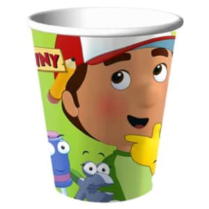Hallmark Handy Manny Party Supplies 9oz Goblets Party Cups - 8 Each for $5