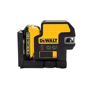 DEWALT 12V MAX Line Laser, 2 Spot, Cross Line, Green (DW0822LG) for $548