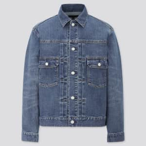 Uniqlo Men's Denim Jacket (small sizes only) for $30