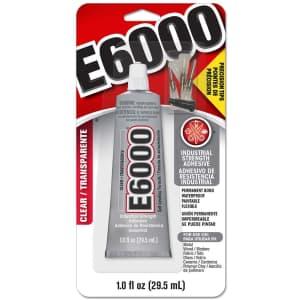 E6000 1-oz. Adhesive w/ Precision Tips for $8