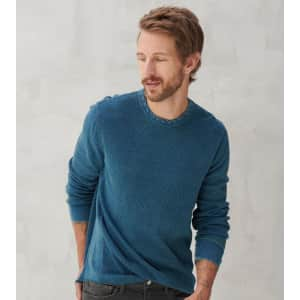 Lucky Brand Men's Thermal Crew for $20