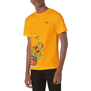 LRG Lifted Research Group Men's Graphic Design Logo T-Shirt, Gold Plant, 2XL for $18