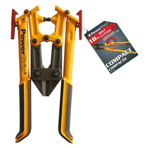 """Olympia Tools 18"""" Compact Bolt Cutter for $43"""