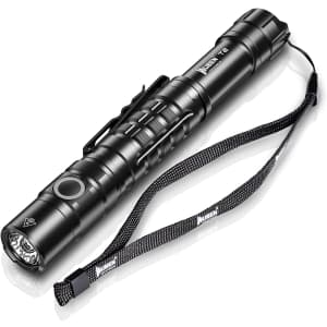 Wuben LED Tactical Compact Flash Light for $18