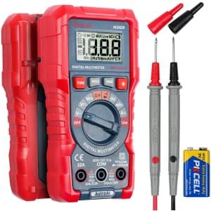 AstroAI Digital Multimeter for $18