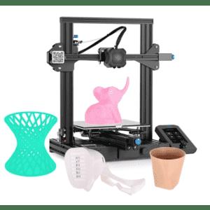 Creality Ender-3 V2 3D Printer for $204