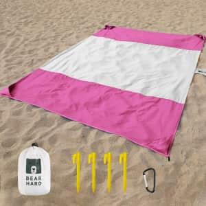 Bearhard Beach Blanket for $12