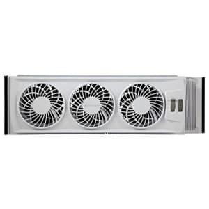 Holmes Bionaire BWF0502M-WM Thin Window Fan, White for $35