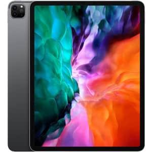 "Apple iPad Pro 12.9"" 256GB Tablet (2020) for $1,045"