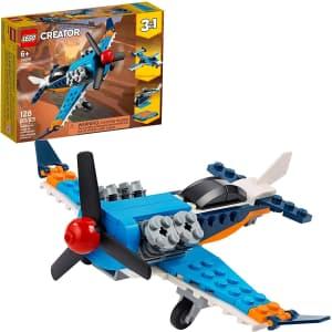 LEGO Creator 3-in-1 Propeller Plane for $8