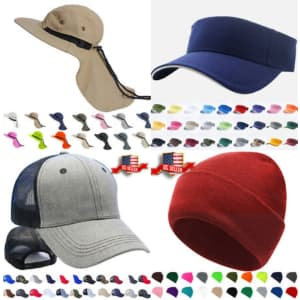 Hats and Caps at eBay: Buy 2, Get one free