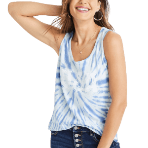 Maurices Women's USA Graphic Tank Top for $7