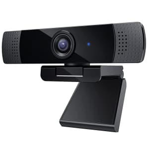 Aukeypower 1080p Webcam with Mic for $20