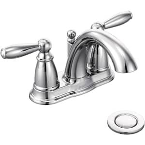 Moen Brantford Low Arc Bathroom Faucet for $92