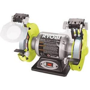 """RYOBI GIDDS2-3554576 6"""" 2.1 Amp Grinder With Led Lights for $89"""