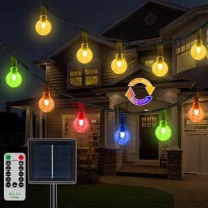 Ollny 50-LED 25-Foot Solar String Lights for $11