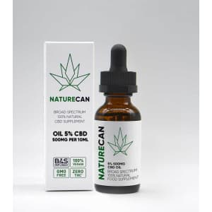 Naturecan CBD Oil 500mg for $22