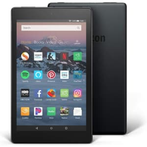 """8th-Gen. Amazon Fire HD 8 32GB 8"""" Tablet for $55"""