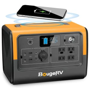 BougeRV 716Wh Portable Power Station for $520