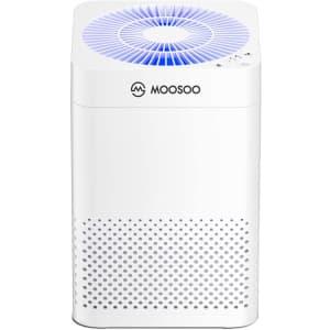 Moosoo HEPA Air Purifier for $60