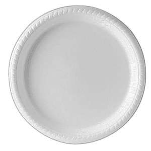 Solo Premium Polystyrene Plate 25-Pack for $6