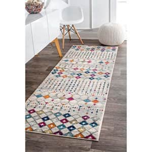 """nuLOOM Moroccan Blythe Area Rug, 2' 6"""" x 6', Multi for $31"""