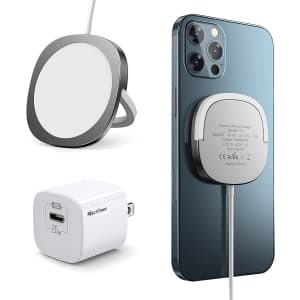 Marchpower 20W Magnetic Charger for iPhone 12 for $15