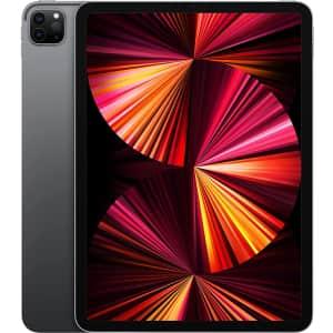 "Apple 11"" iPad Pro 128GB WiFi Tablet (2021) for $749"