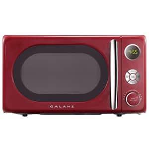 Galanz GLCMKA07RDR-07 Retro 0.7 cu. Ft. 700-Watt Countertop Microwave, Hot Rod Red for $49
