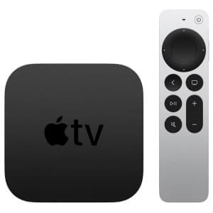 Apple TV 4K 64GB Streaming Media Player (2021) for $180