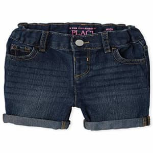 The Children's Place Baby Girls' Denim Shorts, Brooke WASH, 3T for $13
